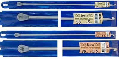 длинный крючок металлический для тунисского вязания купить в